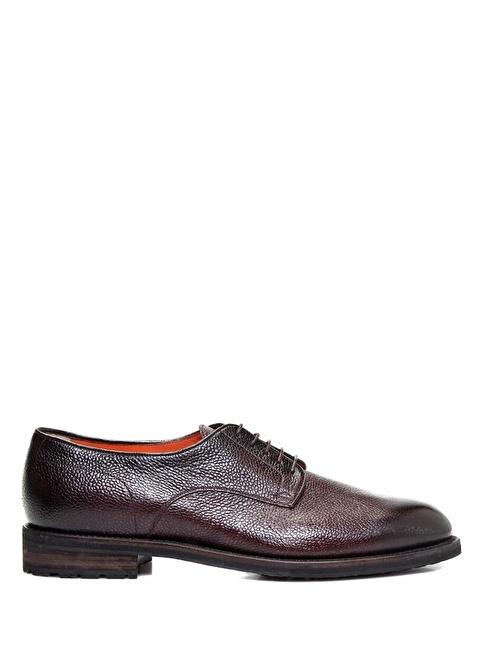 Santoni Deri Ayakkabı Bordo